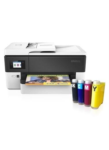 HP Hp Officejet Pro 7720 Fotokopi + Faks + Tarayıcı + Wi-Fi + Airprint + A3 Yazıcı Y0S18A Ve Bitmeyen K Renkli